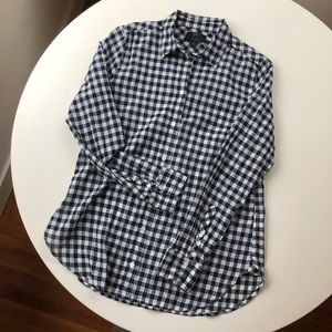 J. Crew Gingham Classic Button-down Shirt